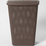 Y-Weave Laundry Hamper River Birch - Room Essentials , Gray Brown