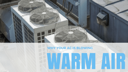 Why Your Air Conditioner is Blowing Warm Air | Max Mechanical