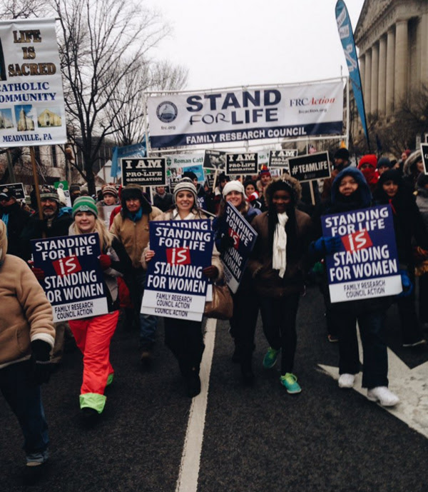 2016 March for Life (Photo: Twitter/Family Research Council)