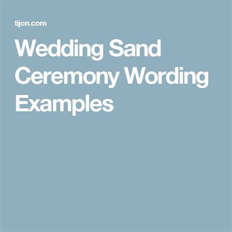 Best 25  Wedding sand ceremony ideas on Pinterest