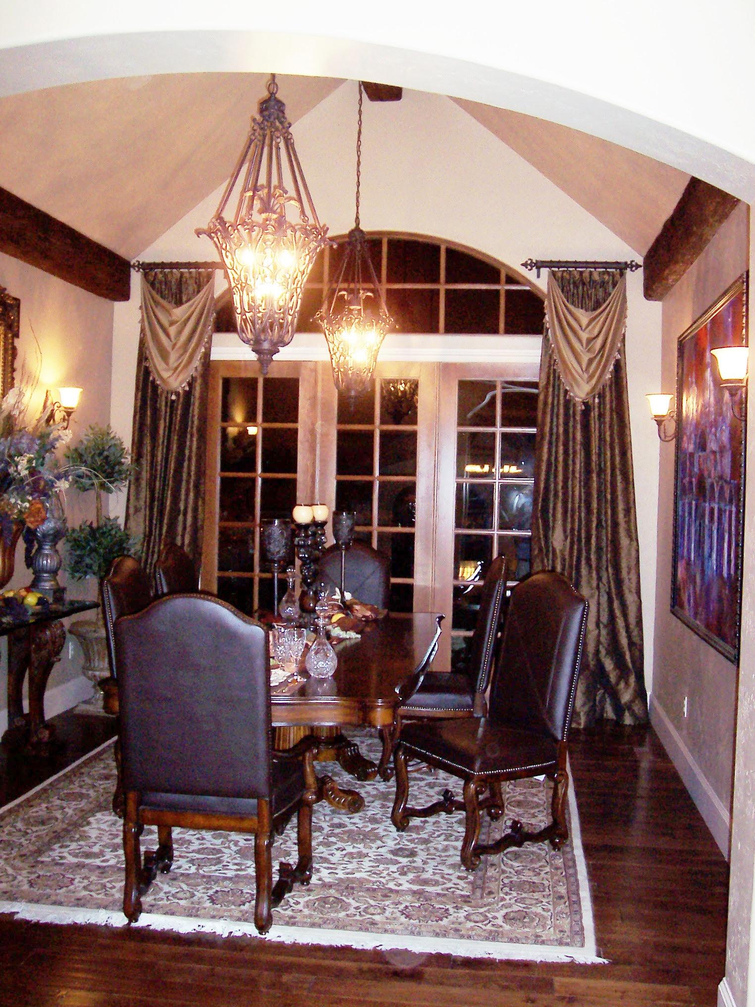 Dining Room Window Treatment Ideas