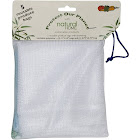 Natural Home Reusable Produce Bag Set, White - 5 count