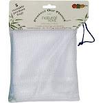 Natural Home Reusable Produce Bag Set, White - 5 count