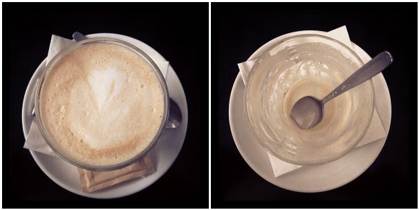 coffee: before & after