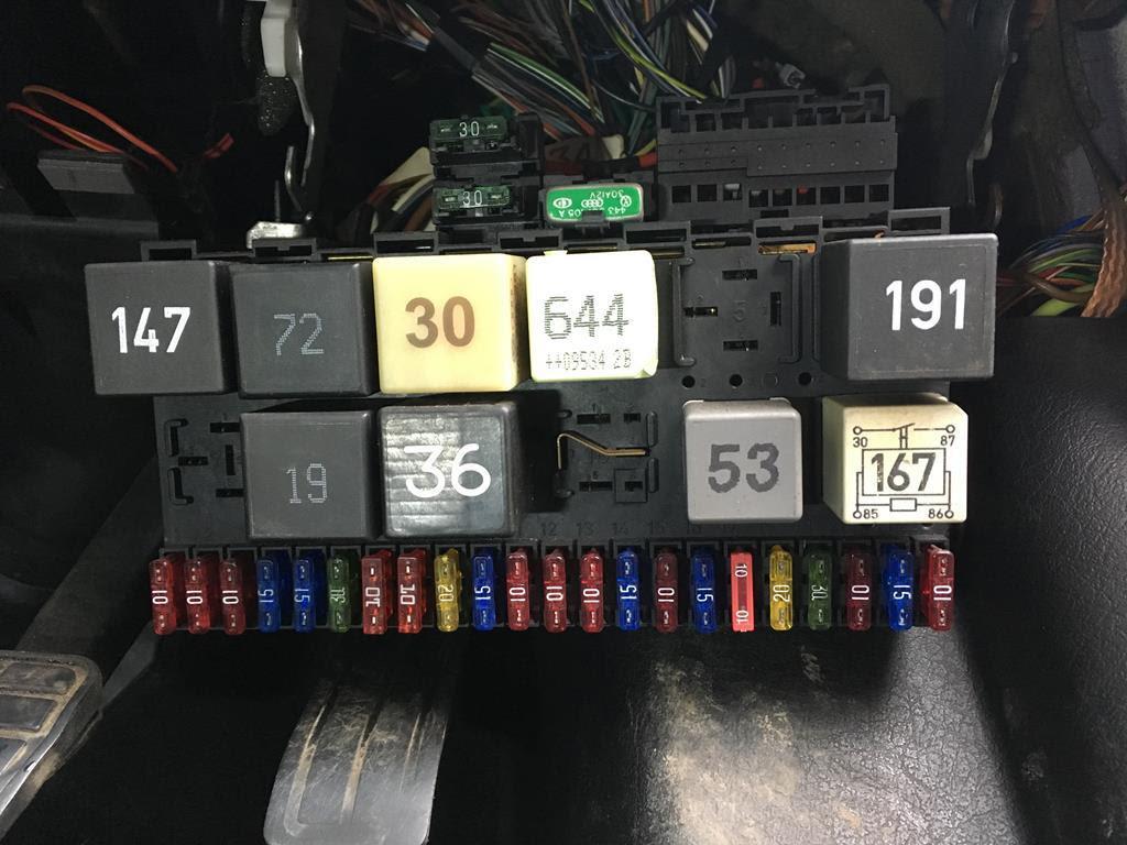Vw Mk3 Fuse Box Wire