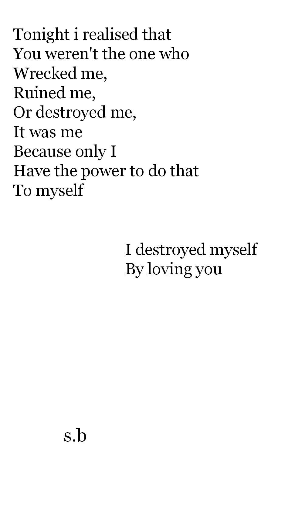 Sad Love Poems Tumblr Poem quotes tumblr