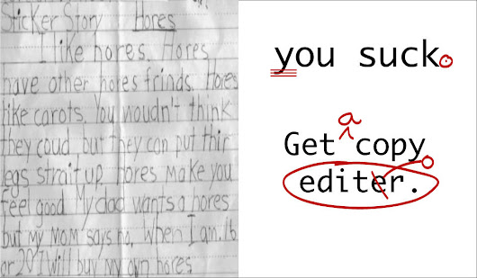 On Editing Manuscripts & Other Things That Suck—Part One