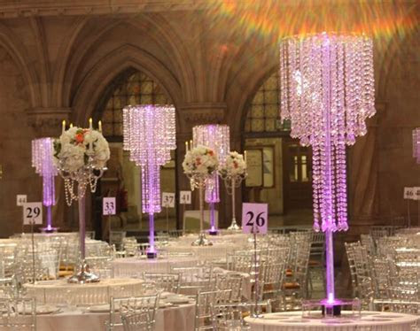 Crystal Table Chandeliers   Royal Courts of Justice from