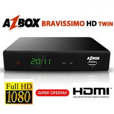 AZBOX BRAVISSIMO TWIN - ATUALIZAÇÃO 21/10/2013