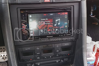 Audi A4 Aftermarket Stereo Install