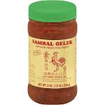 Sambal Oelek Ground Fresh Chili Paste - 8 oz jar