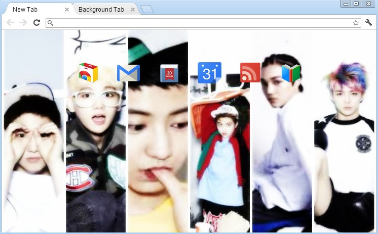 Hd Exo Wallpaper Google Chrome Wallpaper Bergerak