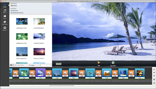 How to Create Slideshow with Transitions on Mac