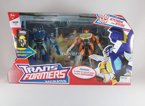 Transformers Safeguard Animated - caja