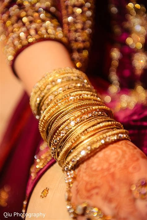 Bridal jewelry in Ontario, Canada Pakistani Wedding by Qiu