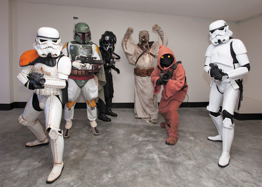 Bad Guys Doing Good - 501st Legion - Star Wars - MidWeek