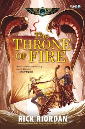 THE THRONE OF FIRE REVIEW