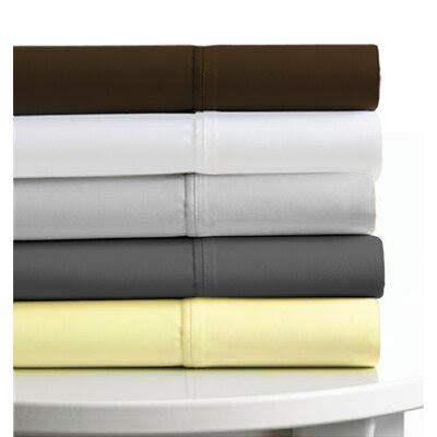 Tribeca Living Gray 600 Thread Count 6-Piece Egyptian Cotton
