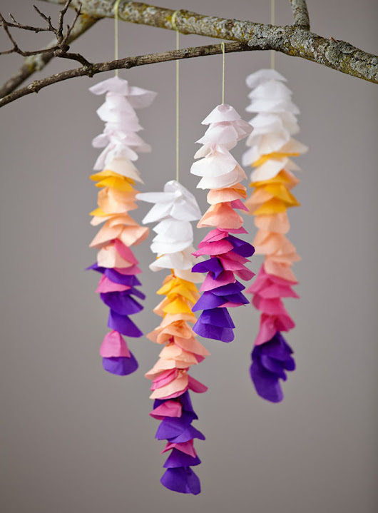 Unique Paper Decorations for Your Home - PRE-TEND Be curious.