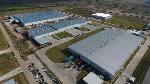 La nueva planta de Samsung y Visuar en Cañuelas. Sumarán 350 empleados.
