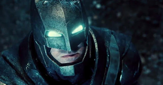 The first Batman v. Superman teaser is now officially out in HD