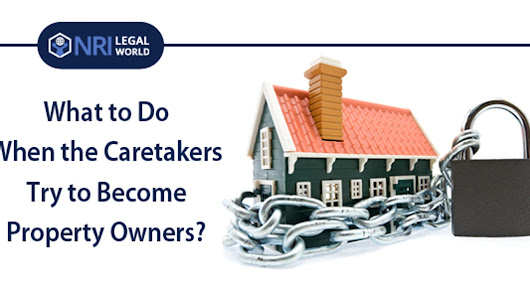 What to Do When the Caretakers Try to Become Property Owners?