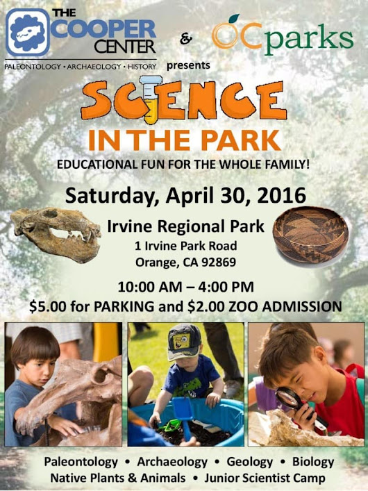 Free Amazing Science in the Park on April 30 in Orange County - SoCal Field Trips