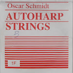 Oscar Schmidt CBBDMIN-U Single Chord Bar Autoharp Strings B Model D Minor