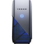Dell - Inspiron Gaming Desktop- AMD Ryzen 7 2700X - 16GB Memory - AMD Radeon RX 580 4GB - 1TB HDD+ 256GB SSD - Recon Blue with Solid Panel