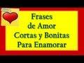 Frases De Amor Cortas Para Enamorar Con Imagenes