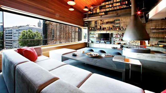 Leading-Edge Interior Designs of the Karakoy Loft in Istanbul, Turkey | Home Design Lover
