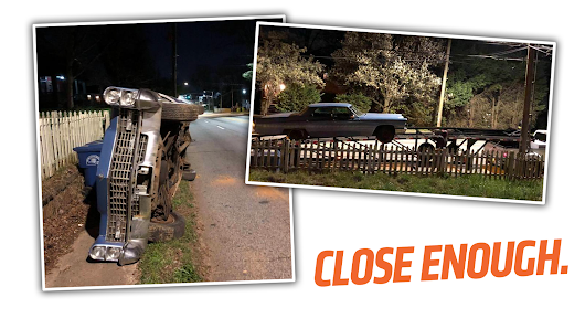 The Worst Car Delivery Story Ever Involves A Flipped-Over Cadillac And An Alleged Shotgun