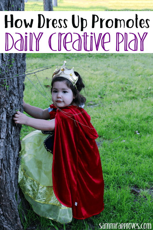 How Dress Up Promotes Daily Creative Play • Sammy Approves