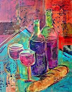 Artists Of Texas Contemporary Paintings And Art Bread And