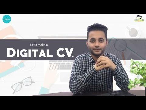 Let's Make a Digital CV | ডিজিটাল সিভি | Canva.com