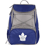 Picnic Time 633-00-138-274-10 Toronto Maple Leafs - PTX Cooler Backpack - Navy