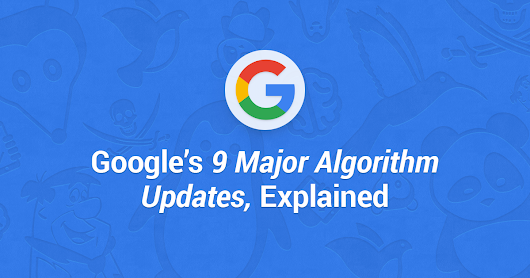 Google's 9 Major Algorithm Updates