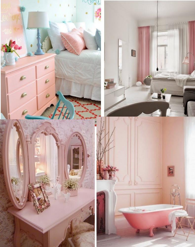 como usar rosa quartzo na decoracao quarto e banheiro