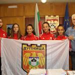Кметът на Дупница изпрати 4-те националки от дупнишкия клуб по таекуондо за световното първенство - Кюстендил - DarikNews