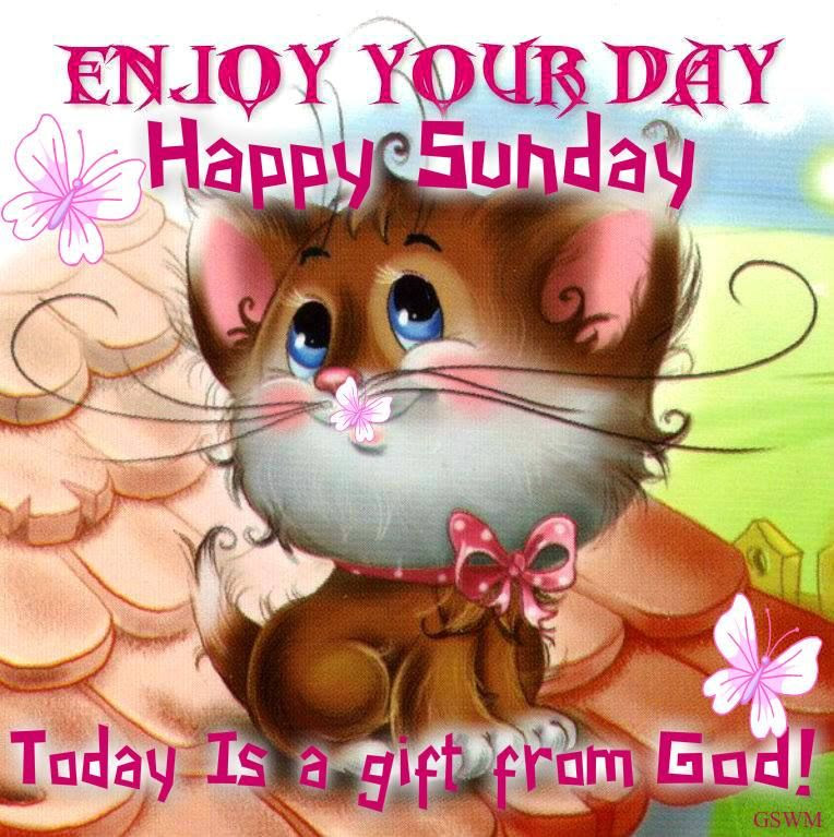 Enjoy Your Sunday Today Is A Gift From God Pictures Photos And