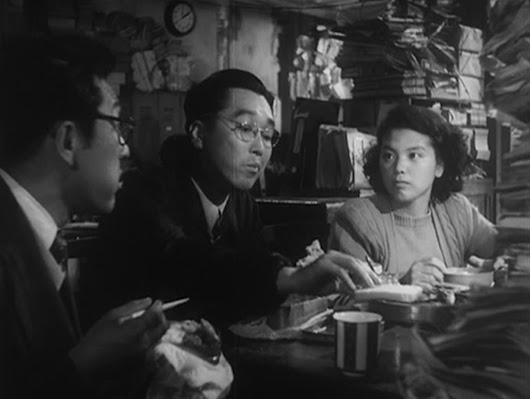 "What Are They Eating? – ""Ikiru"" and ""Street of Shame"" – Enic-cinE"