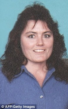 Prior life: Mrs Culp as she was before her husband blasted her in the face with a shotgun from eight feet away