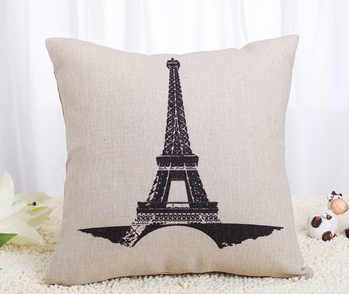 Paris Is Always A Good Idea Pillow Cover Go And Glow With