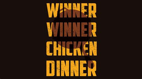 winner winner chicken dinner hd games  wallpapers