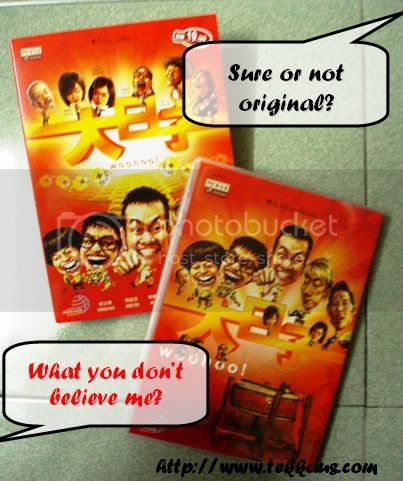 Woohoo Movie, Original DVD