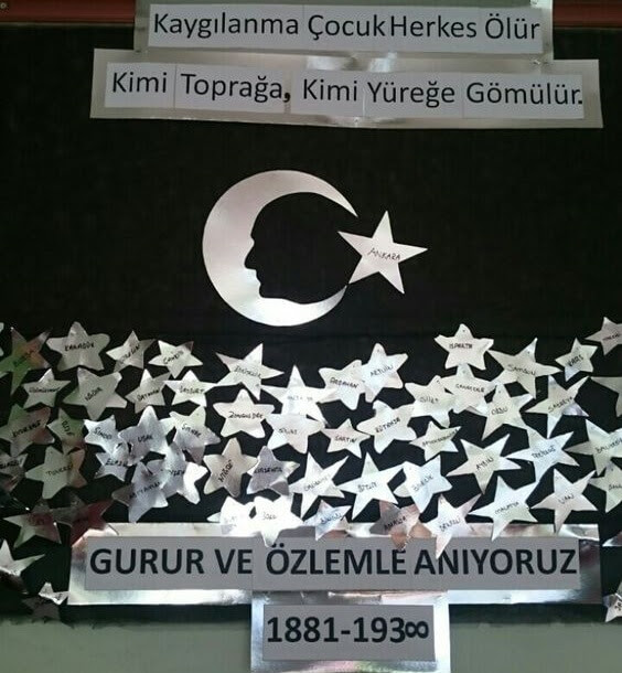 10 Kasım Ile Ilgili Pano çalışmaları Ansiklomedia Türkiyenin