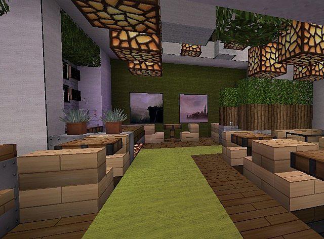 Skyblocks coffee co. Minecraft Project