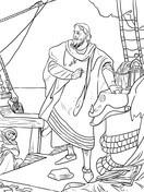 Dibujos De Día De La Raza Día De La Hispanidad Para Colorear