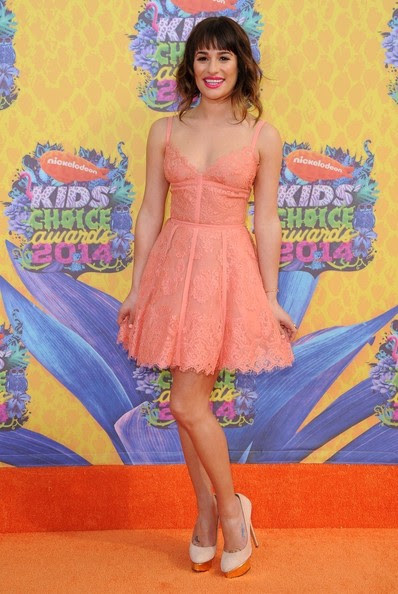 Lea Michele - Nickelodeon's Kids' Choice Awards 2014