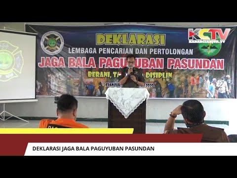 Deklarasi Jaga Bala Paguyuban Pasundan